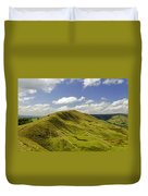 Rushup Edge From Mam Tor Duvet Cover