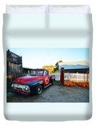 Russel Farms 1951 Ford F100 Duvet Cover
