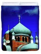 Russian Orthodox Church Duvet Cover