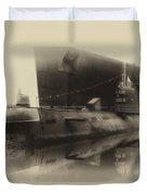 Russian Submarine Heirloom 01 Duvet Cover