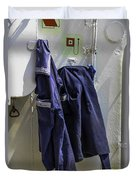 Russian Tall Ship Uniforms Duvet Cover