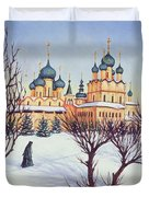 Russian Winter Duvet Cover
