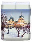 Russian Winter Duvet Cover