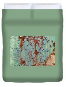 Rust And Paint Duvet Cover