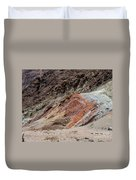 Rust Colored Formation Duvet Cover