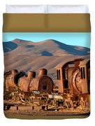 Rust In Peace Duvet Cover by James Brunker