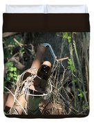 Rust In The Woods Duvet Cover