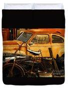 Rust Race Duvet Cover
