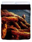 Rust Duvet Cover