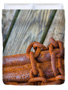 Rusted Chained Duvet Cover