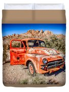 Rusted Classics - Job Rated Duvet Cover
