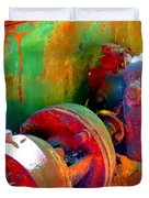 Rusted Glory 4 Duvet Cover