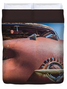 Rusted Oldsmobile Duvet Cover