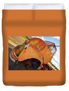 Rusted Out Chevrolet 5700 Duvet Cover by Liane Wright