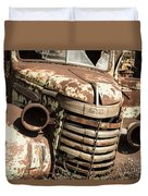 Rusted Pickup  Duvet Cover