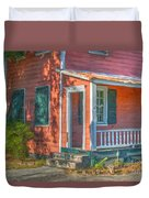 Rusted Tin Roof Duvet Cover