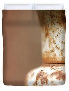 Rusted Urn Duvet Cover