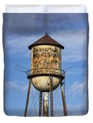 Rusted Water Tower Duvet Cover