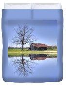 Rustic Barn Duvet Cover by David Troxel