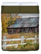 Rustic Berkshire Barn Duvet Cover