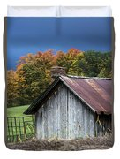 Rustic Farm Shed Duvet Cover