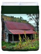 Rustic House II Duvet Cover