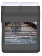 Rustic Ornamentation - Yates Mill Pond Duvet Cover