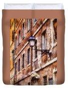 Rustic Rome Apartments Duvet Cover