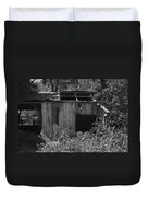 Rustic Shed 2 Duvet Cover