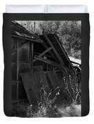 Rustic Shed 4 Duvet Cover