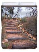 Rustic Stairway Duvet Cover
