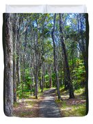 Rustic Trail Duvet Cover