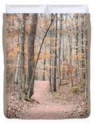 Rustic Trails In January 2013 Duvet Cover