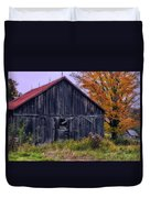 Rustic Vermont Barn Duvet Cover