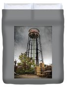 Rustic Water Tower Duvet Cover