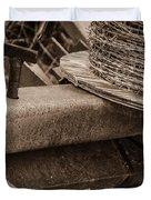 Rusty Barb Duvet Cover