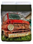 Rusty Dodge Duvet Cover