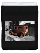 Rusty Ford Duvet Cover