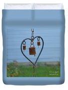 Rusty Heart 2 Duvet Cover
