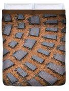 Rusty Iron Hatch Duvet Cover