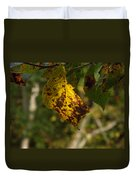 Rusty Leaf Duvet Cover