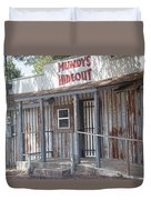 Rusty Metal Architecture Duvet Cover