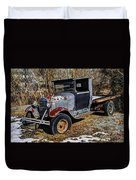 Rusty Model Aa Ford Duvet Cover