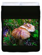 Rusty Mushroom Duvet Cover