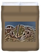 Rusty Old American Dreams - 2 Duvet Cover