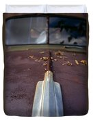 Rusty Old Car Duvet Cover