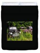 Rusty Old Transportation Duvet Cover