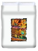 Rusty Old Truck Duvet Cover