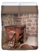 Rusty Ruins In Jerome Arizona Duvet Cover