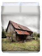 Rusty Tin Roof Barn Duvet Cover